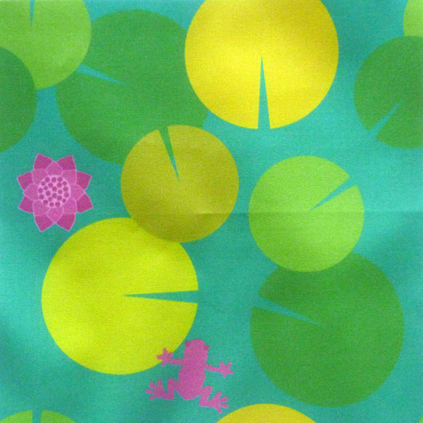 My_little_frog_fabric